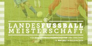 Herausforderer gesucht: ECHN Landesfußballmeisterschaft 2017 - Flyer Seite 1