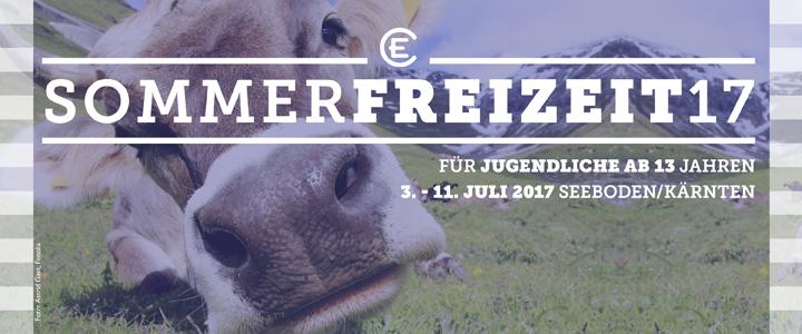 Sommerfreizeiten 2017: für Jugendliche in Seeboden/Kärnten